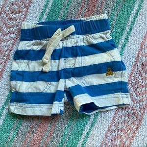BABY GAP Striped shorts size 3-6months